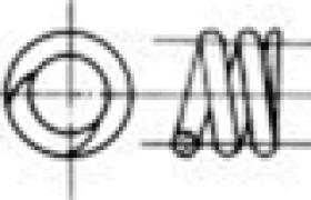 压缩弹簧的端部结构