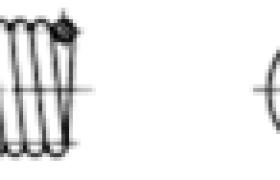 拉伸弹簧的端部结构形式