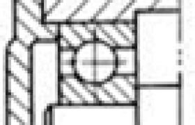 单向限位支承结构举例