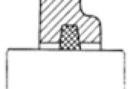 轴承接触式密封