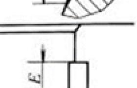 定位唇与定位槽的标准尺寸与极限偏差     (mm)