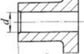联轴器轴孔型式及代号(摘自GB/T 3852-1997)