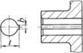 联轴器轴孔与轴的联接型式(摘自GB/T 3852—1997)