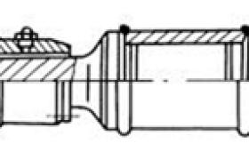 SWZ型万向联轴器的7种结构型式(摘自JB/T 3242—1993)