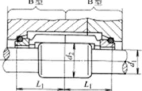 机械密封的结构两端均为平衡式结构 主要尺寸 (BB型)