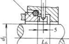 机械密封静止环限位结构尺寸