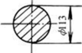 不同空心截面形状惯性矩对比