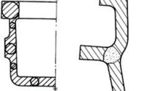 按铸件的凝固顺序设计壁厚