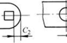 冲裁件孔位置的尺寸界限