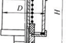 针阀式注油杯规格        (摘自JB/T 7940.6—1995)